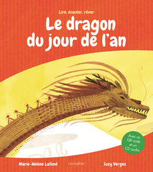 Le dragon du Jour de l'An (le livre + la version audio) - 9782378623159 - Circonflexe - couverture