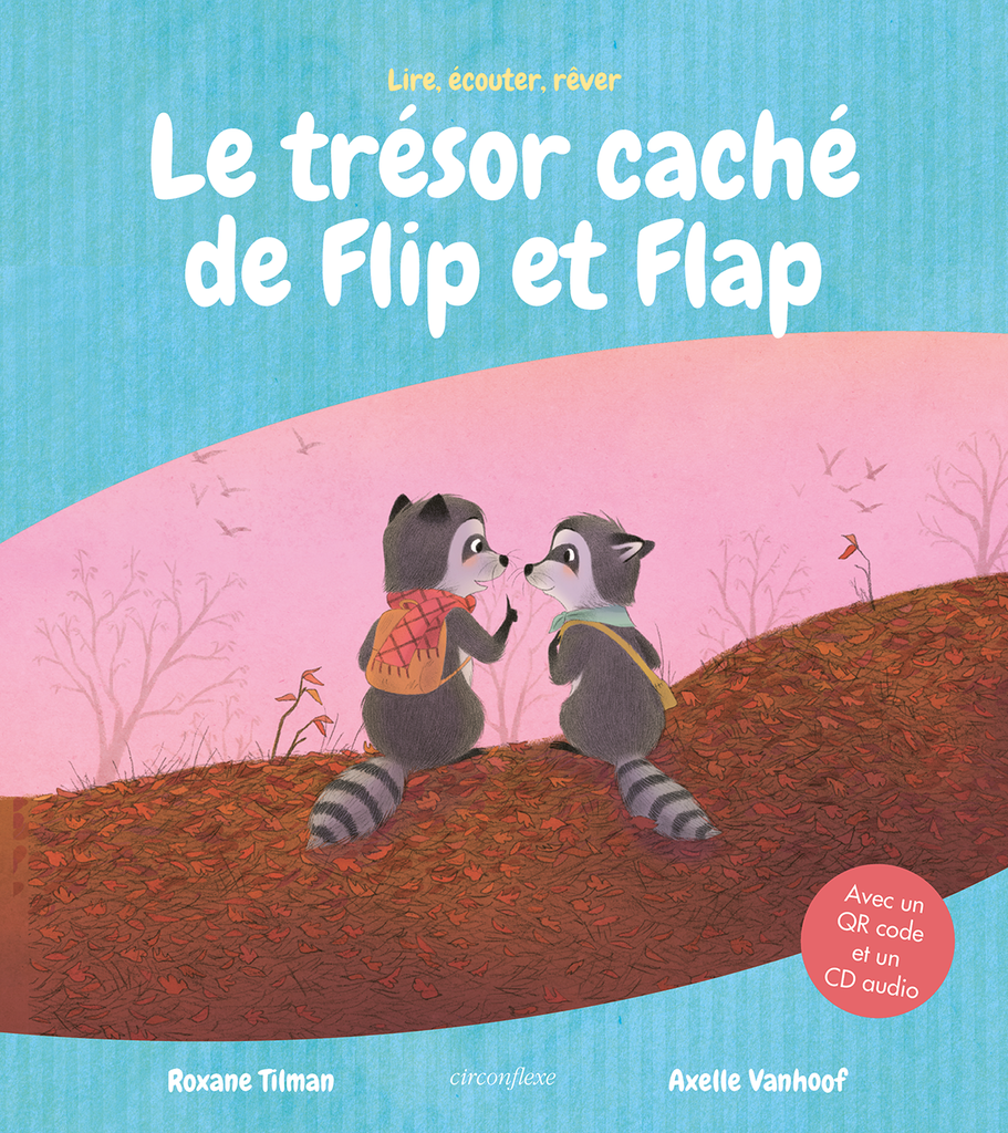 Le trésor caché de Flip et Flap - version audio - 9782378623173 - Circonflexe - couverture