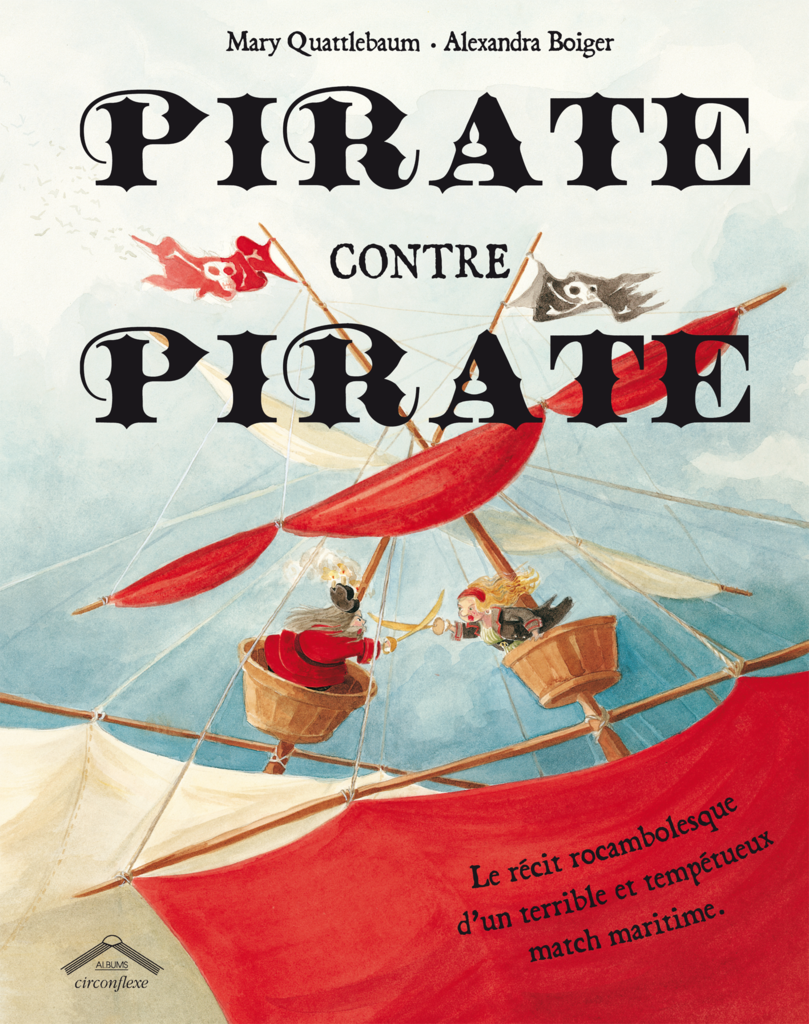 Pirate contre pirate - 9782878336641 - Circonflexe - couverture