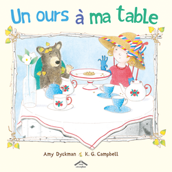 Un ours à ma table - 9782878337143 - Circonflexe - couverture