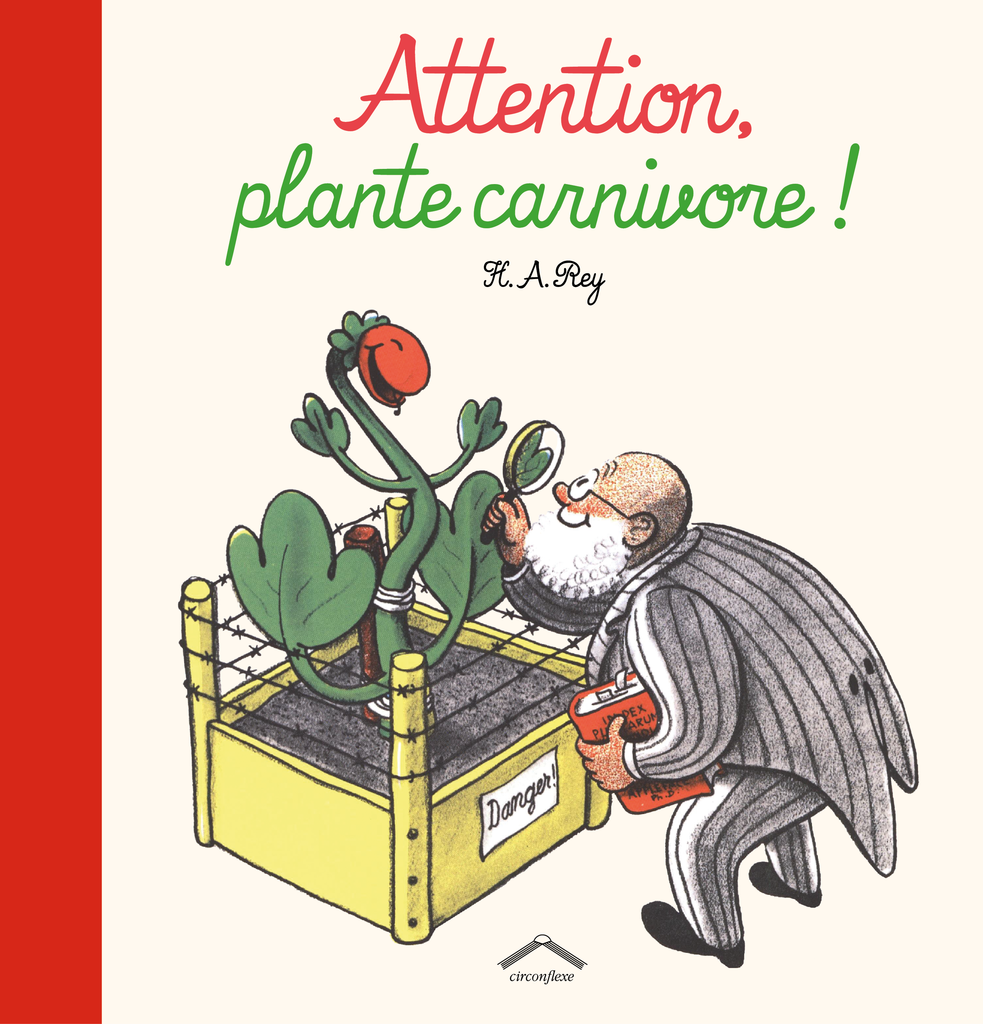 Attention, plante carnivore ! - 9782878337242 - Circonflexe - couverture